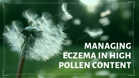 How to prevent skin allergies when pollen content is high?