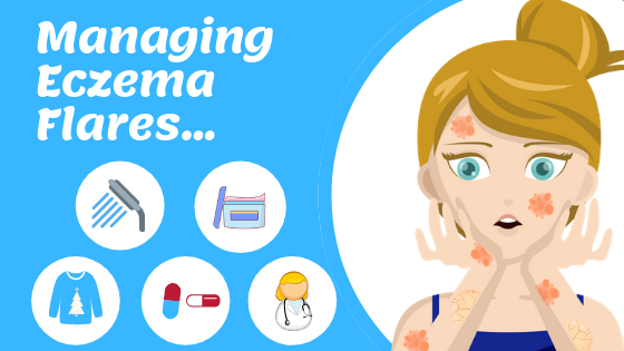 TIps to manage Eczema Flares