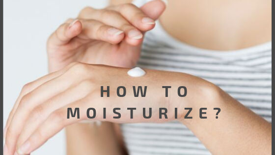 How to moisturize in eczema