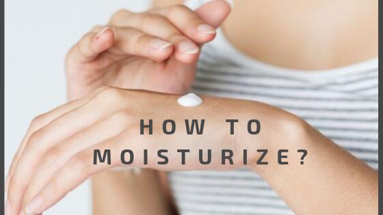 How to Moisturize your Skin in Eczema?