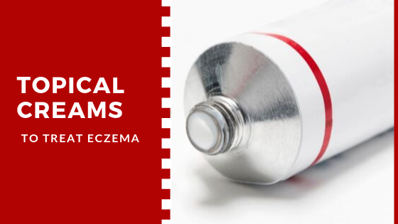 Treating eczema using topical creams