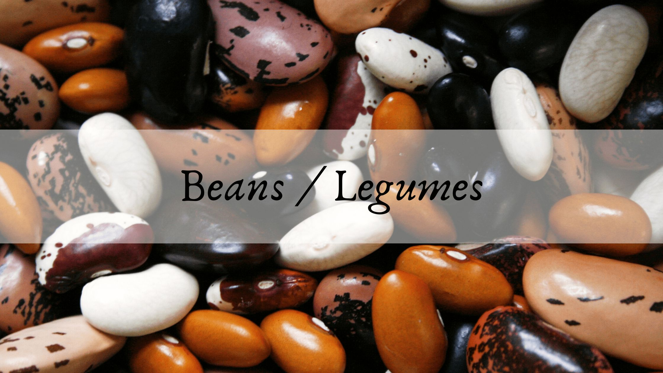 Beans and Legumes Anti Inflammatory food for eczema