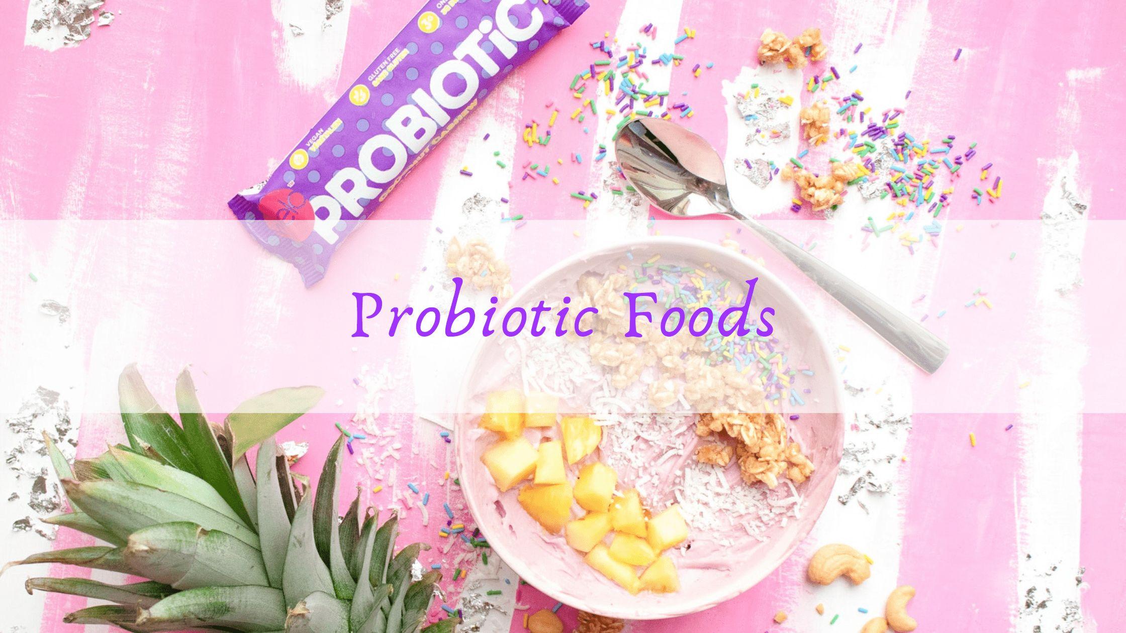 Aliments probiotiques pour le traitement de l'eczéma