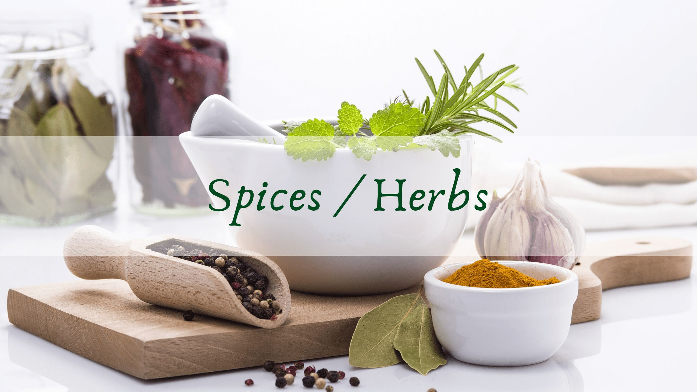 Spices and herbs Anti Inflammatory food for eczema