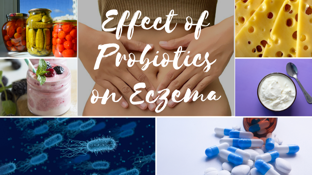 Probiotics for eczema treatment
