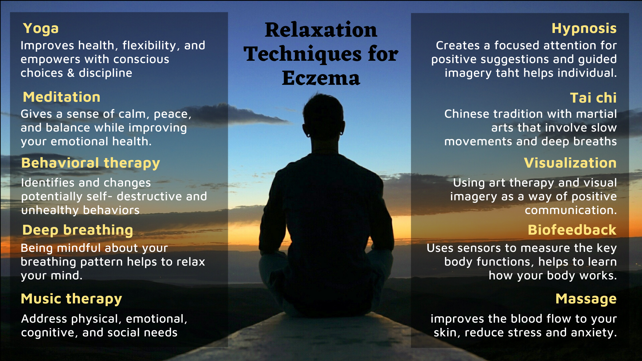 Relaxation Techniques for Eczema